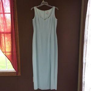 Minty Blue Bob Mackie Sleeveless Dress